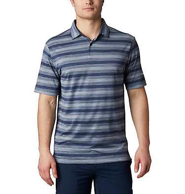 Men's Omni-Wick™ Chatter Polo Men's Omni-Wick Men's Chatter Polo | 010 | S, Navy, front