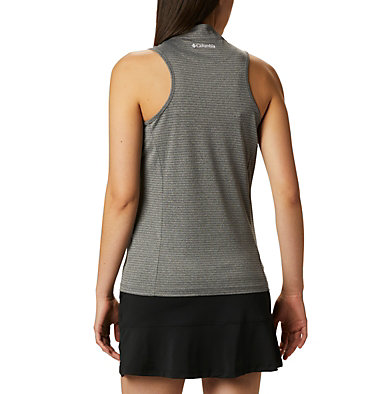 Women's Omni-Wick™ Hole High Sleeveless Polo Women's Omni-Wick Hole High Sleeveless Polo | 010 | S, Black, back
