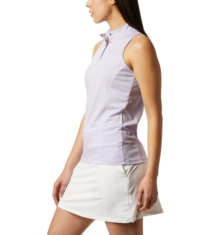 Women's Omni-Wick™ Hole High Sleeveless Polo Women's Omni-Wick™ Hole High Sleeveless Polo, a1