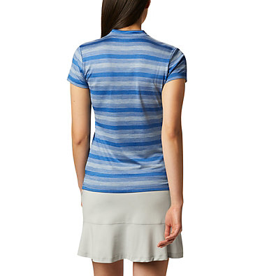 Women's Omni-Wick™ Chatter Polo Women's Omni-Wick Chatter Polo | 437 | S, Azul, back