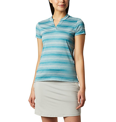 Women's Omni-Wick™ Chatter Polo Women's Omni-Wick Chatter Polo | 437 | S, Shasta, front