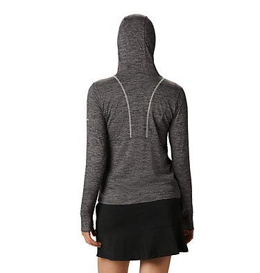 Women's Omni-Wick™ Sky Full Zip Long Sleeve Shirt Women's Omni-Wick Sky Full Zip | 010 | S, Black, back