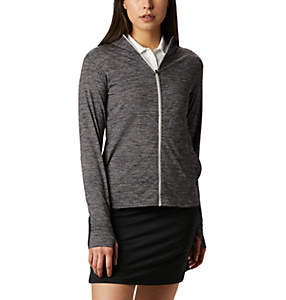 Women's Omni-Wick™ Sky Full Zip Long Sleeve Shirt