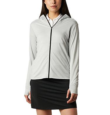 Women's Omni-Wick™ Sky Full Zip Long Sleeve Shirt Women's Omni-Wick Sky Full Zip | 010 | S, Cool Grey, front