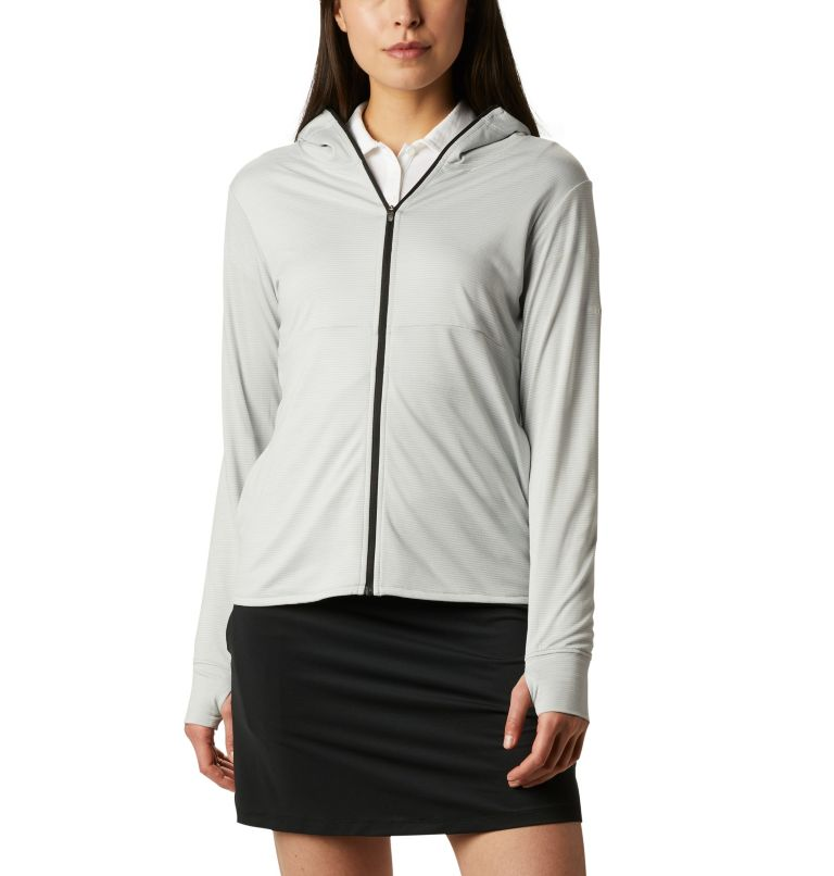 Women's Omni-Wick™ Sky Full Zip Long Sleeve Shirt Women's Omni-Wick™ Sky Full Zip Long Sleeve Shirt, front