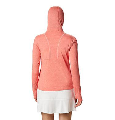 Women's Omni-Wick™ Sky Full Zip Long Sleeve Shirt Women's Omni-Wick Sky Full Zip | 010 | S, Hot Coral, back