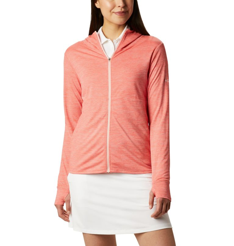 Women's Omni-Wick™ Sky Full Zip Long Sleeve Shirt Women's Omni-Wick™ Sky Full Zip Long Sleeve Shirt, front