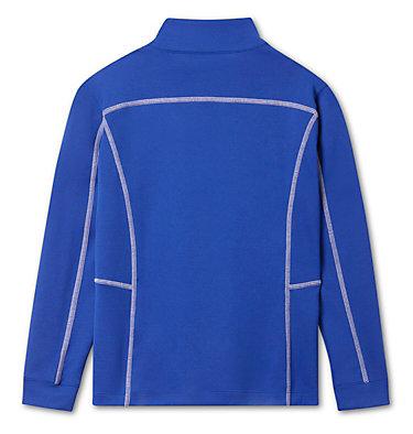 Kids' Omni-Wick™ Shotgun Quarter Zip Long Sleeve Shirt Kids' Shotgun | 437 | XS, Azul, back