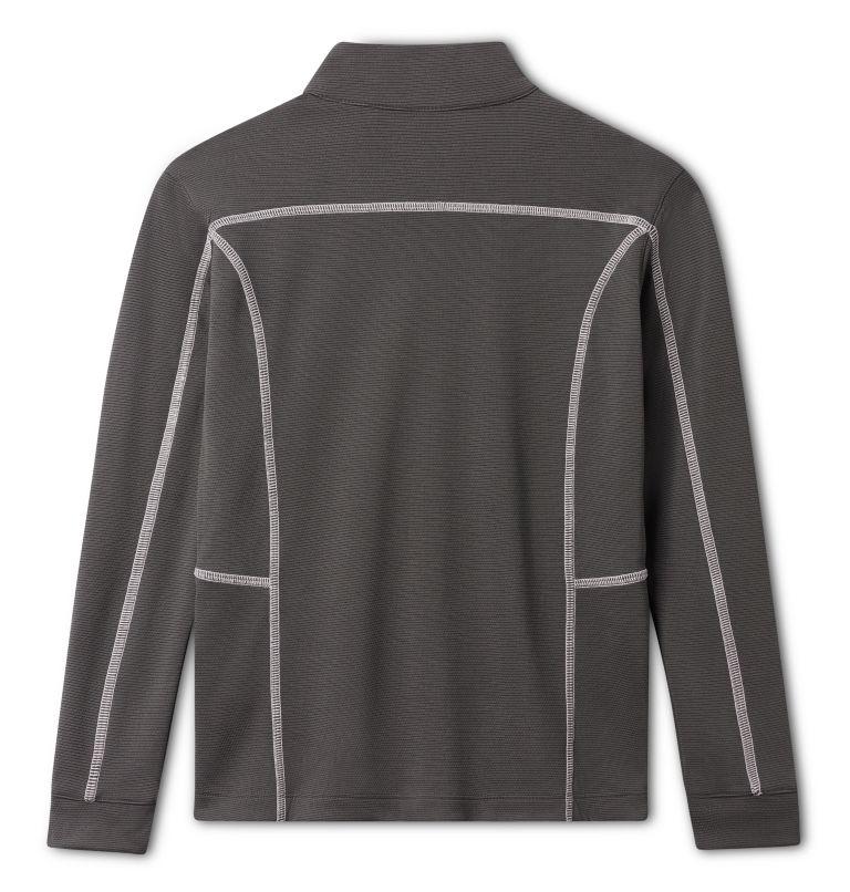 Kids' Shotgun | 895 | M Kids' Omni-Wick™ Shotgun Quarter Zip Long Sleeve Shirt, Forged Iron, back