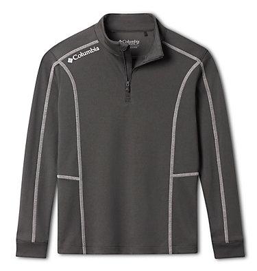 Kids' Omni-Wick™ Shotgun Quarter Zip Long Sleeve Shirt Kids' Shotgun | 437 | XS, Forged Iron, front