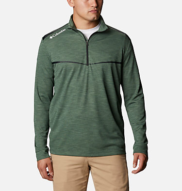 Men's Omni-Wick™ Scorecard Pullover Shotgun Golf 1/4 Zip | 437 | S, Commando, front