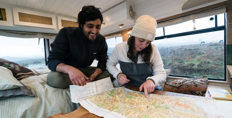 Ever thought about just packing it all in, stuffing all your belongings into a camper van and hitting the road? Well, ex-Londoners Charlie and Josh have done just that.