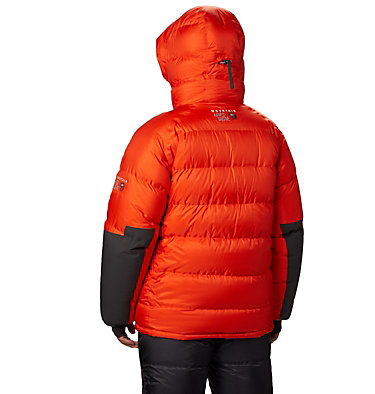 Men's Absolute Zero™ Down Parka Absolute Zero® Parka | 015 | M, State Orange / Shark, back