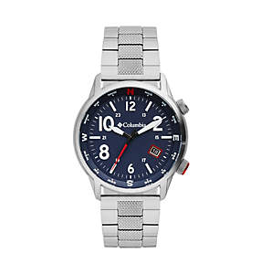 Outbacker Three-Hand Stainless Steel Watch
