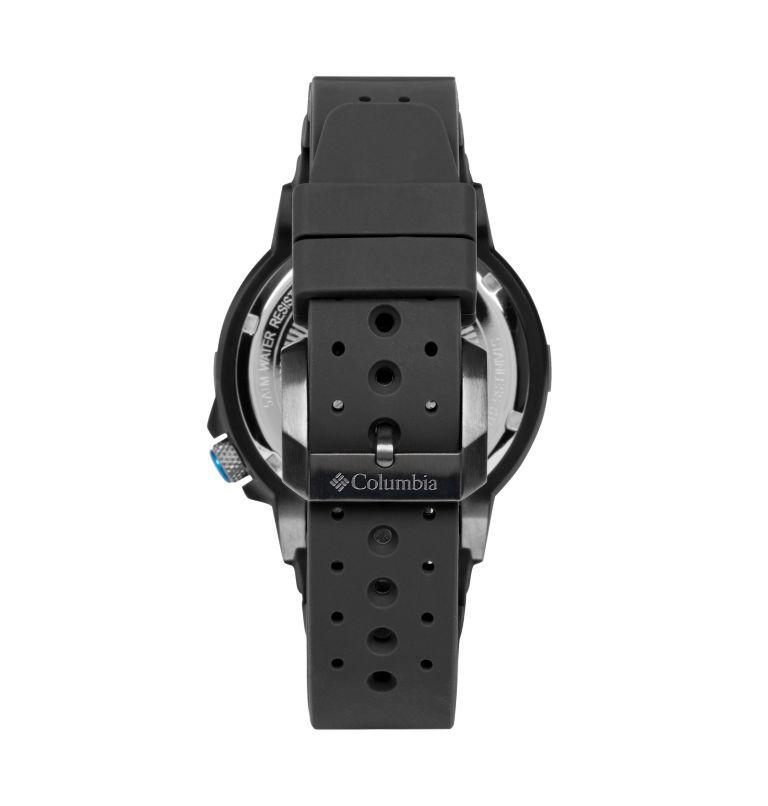 Peak Patrol Black 3-Hand Day Date Black Silicone Watch| 030 | O/S Peak Patrol Three-Hand Date Silicone Watch, Gray, back
