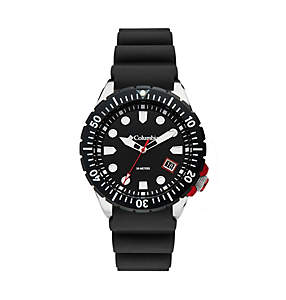 Pacific Outlander Three-Hand Date Silicone Watch