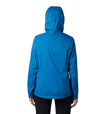 Women's EvaPOURation™ Jacket EvaPOURation™ Jacket | 010 | XXL, Dark Pool, Static Blue Zip, back