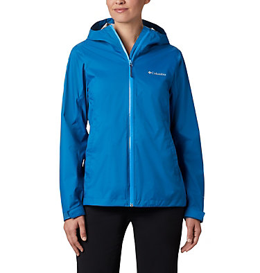 Women's EvaPOURation™ Jacket EvaPOURation™ Jacket | 010 | XXL, Dark Pool, Static Blue Zip, front