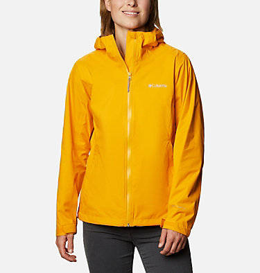Women's EvaPOURation™ Jacket EvaPOURation™ Jacket | 539 | XL, Bright Marigold, front