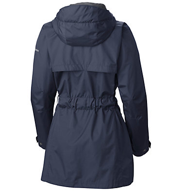 Women's Pardon My Trench™ Rain Jacket Pardon My Trench™ Rain Jacket | 641 | L, Nocturnal, back