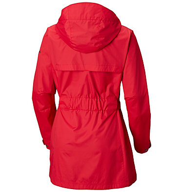 Women's Pardon My Trench™ Rain Jacket Pardon My Trench™ Rain Jacket | 641 | L, Red Mercury, back