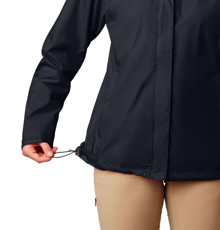 Arcadia™ II Jacket | 010 | XL Women's Arcadia™ II Rain Jacket, Black, a1
