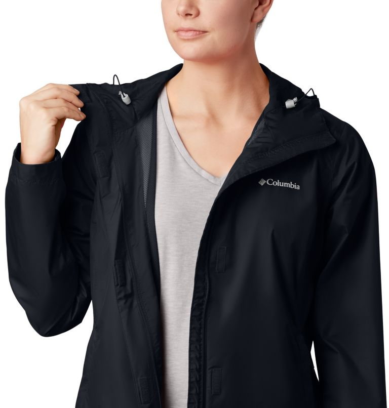Arcadia™ II Jacket | 010 | XL Women's Arcadia™ II Rain Jacket, Black, a2