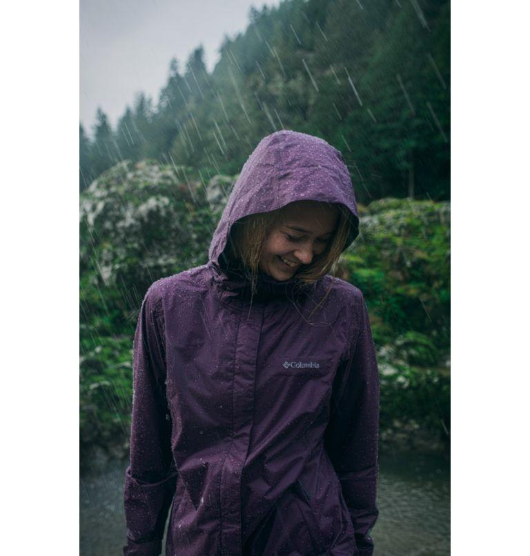 Arcadia™ II Jacket | 010 | XL Women's Arcadia™ II Rain Jacket, Black, a9