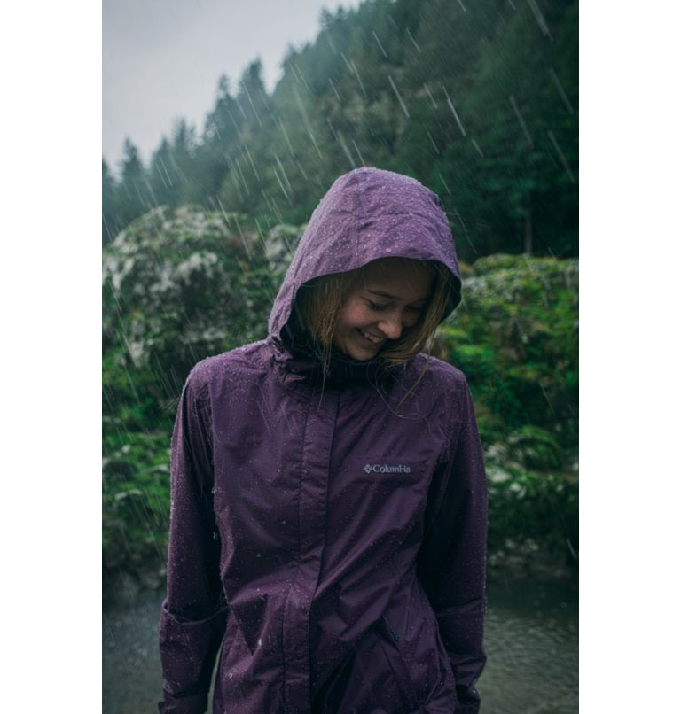 Arcadia™ II Jacket   010   XS Women's Arcadia™ II Rain Jacket, Black, a9