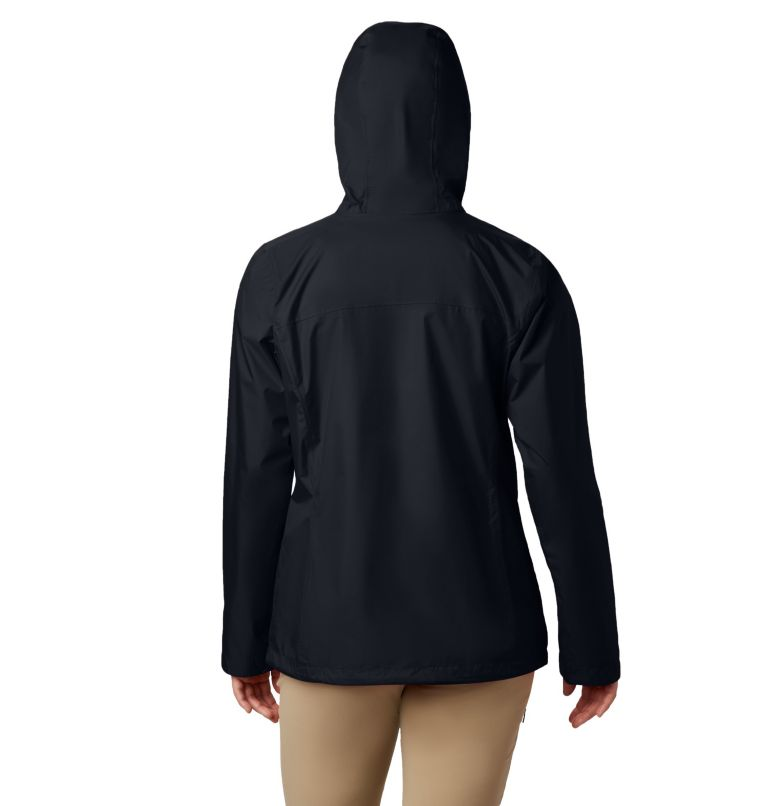 Arcadia™ II Jacket   010   XS Women's Arcadia™ II Rain Jacket, Black, back