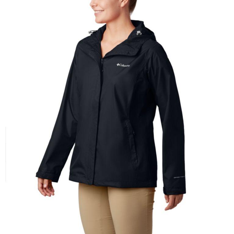 Womens Size 20 22 24 Waterproof Jacket Coat Red Navy Foldaway Hood Girls Ladies