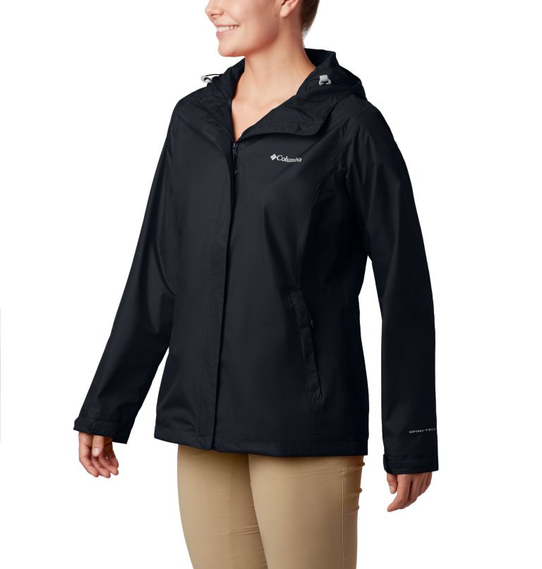 Arcadia™ II Jacket | 010 | XL Women's Arcadia™ II Rain Jacket, Black, front
