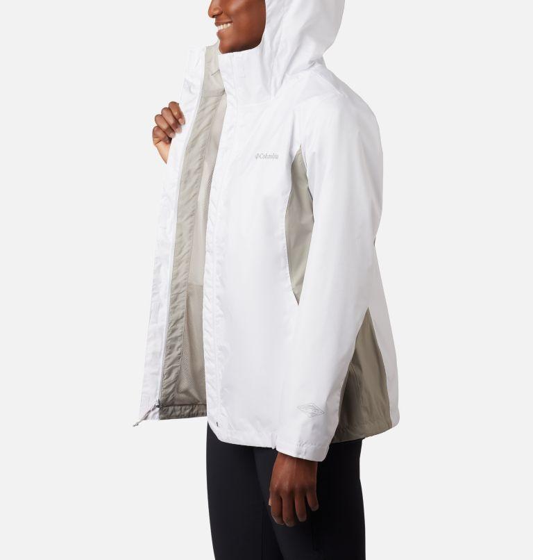 Arcadia™ II Jacket | 101 | L Women's Arcadia™ II Rain Jacket, White, Flint Grey, a1