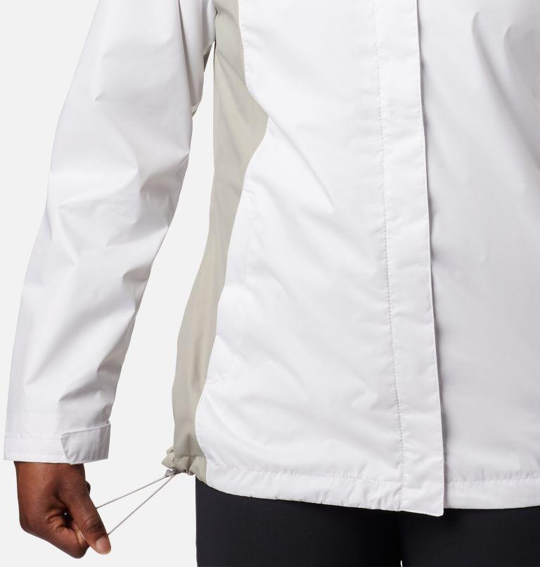 Arcadia™ II Jacket | 101 | L Women's Arcadia™ II Rain Jacket, White, Flint Grey, a3