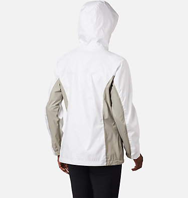 Women's Arcadia™ II Rain Jacket Arcadia™ II Jacket | 772 | M, White, Flint Grey, back