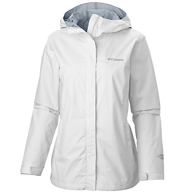 Women's Arcadia™ II Rain Jacket Arcadia™ II Jacket | 582 | M, White, White, front