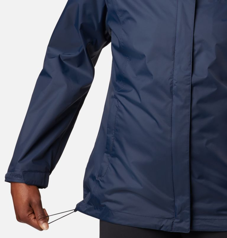 Arcadia™ II Jacket | 427 | M Women's Arcadia™ II Rain Jacket, Columbia Navy, a2