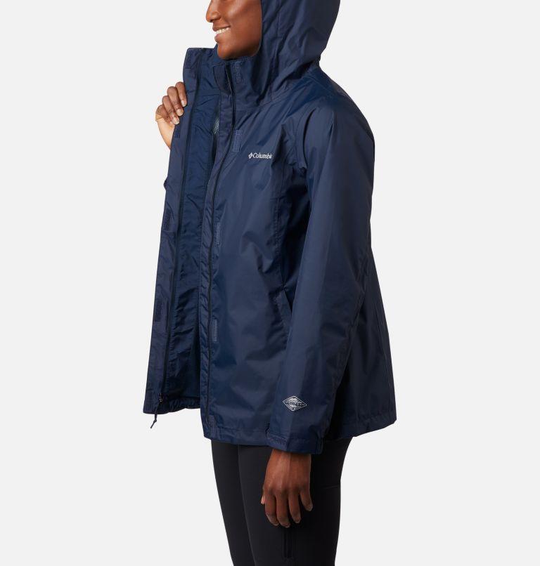 Arcadia™ II Jacket | 427 | L Women's Arcadia™ II Rain Jacket, Columbia Navy, a3