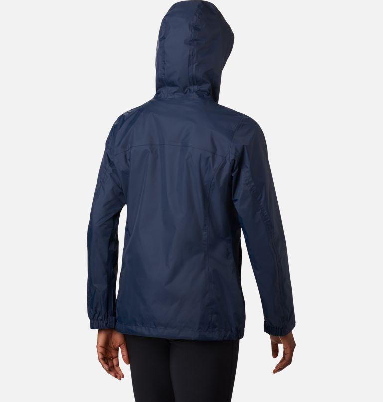 Arcadia™ II Jacket | 427 | L Women's Arcadia™ II Rain Jacket, Columbia Navy, back