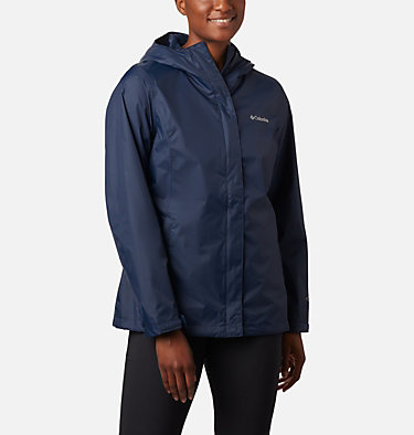 Women's Arcadia™ II Rain Jacket Arcadia™ II Jacket | 772 | XS, Columbia Navy, front