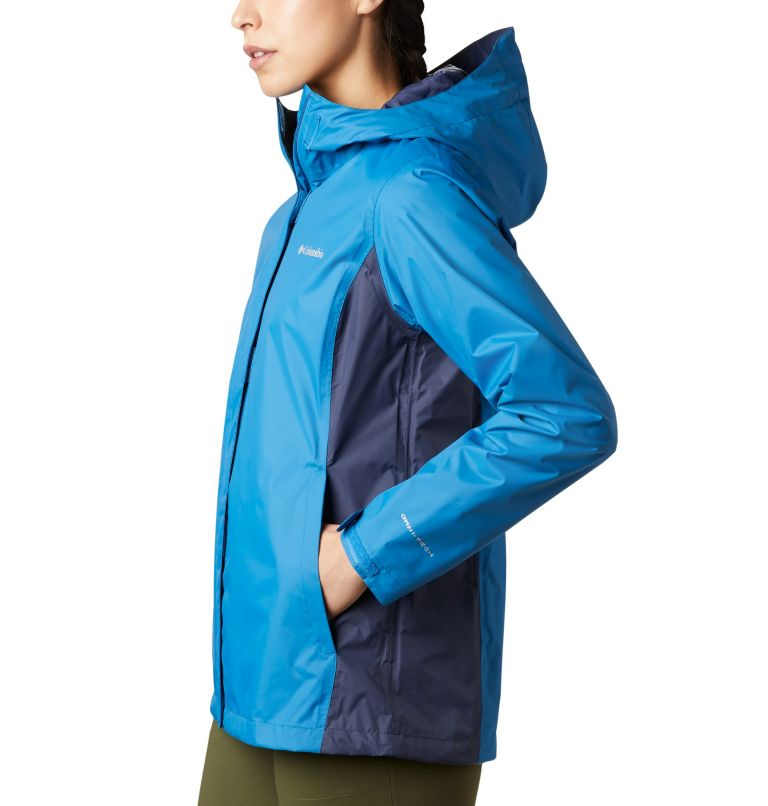 Arcadia™ II Jacket | 442 | XS Women's Arcadia™ II Rain Jacket, Dark Pool, Nocturnal, a1