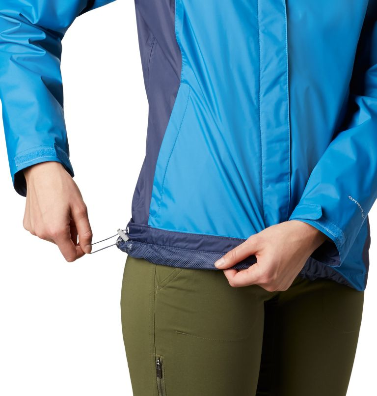 Arcadia™ II Jacket   442   XS Women's Arcadia™ II Rain Jacket, Dark Pool, Nocturnal, a2