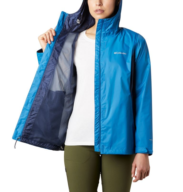 Arcadia™ II Jacket   442   XS Women's Arcadia™ II Rain Jacket, Dark Pool, Nocturnal, a3