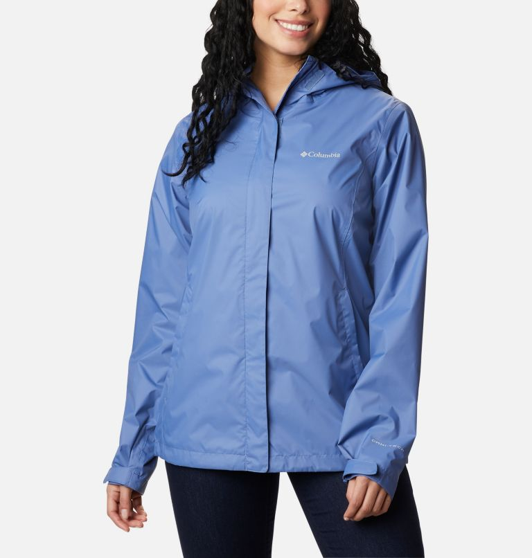 Arcadia™ II Jacket   458   L Women's Arcadia™ II Rain Jacket, Velvet Cove, front