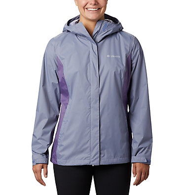 Women's Arcadia™ II Rain Jacket Arcadia™ II Jacket | 772 | M, New Moon, Plum Purple, front