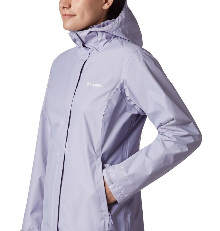 Arcadia™ II Jacket | 580 | S Women's Arcadia™ II Rain Jacket, Twilight, Dusty Iris, a1