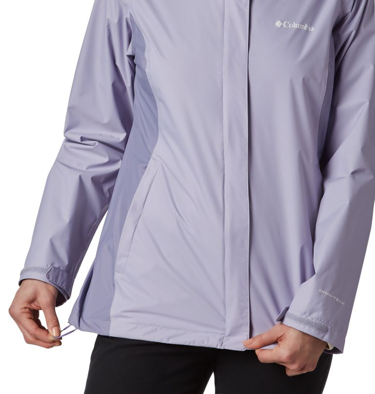 Arcadia™ II Jacket | 580 | S Women's Arcadia™ II Rain Jacket, Twilight, Dusty Iris, a2