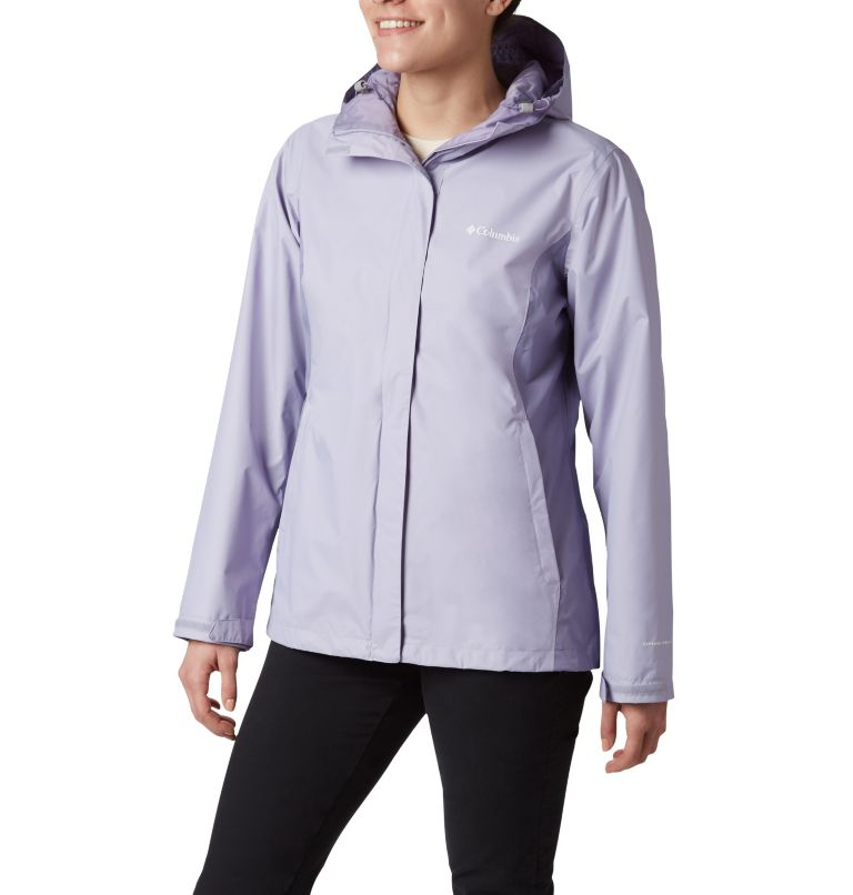 Arcadia™ II Jacket | 580 | S Women's Arcadia™ II Rain Jacket, Twilight, Dusty Iris, front