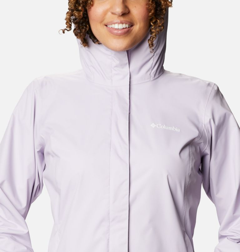 Arcadia™ II Jacket | 584 | L Women's Arcadia™ II Rain Jacket, Pale Lilac, a2