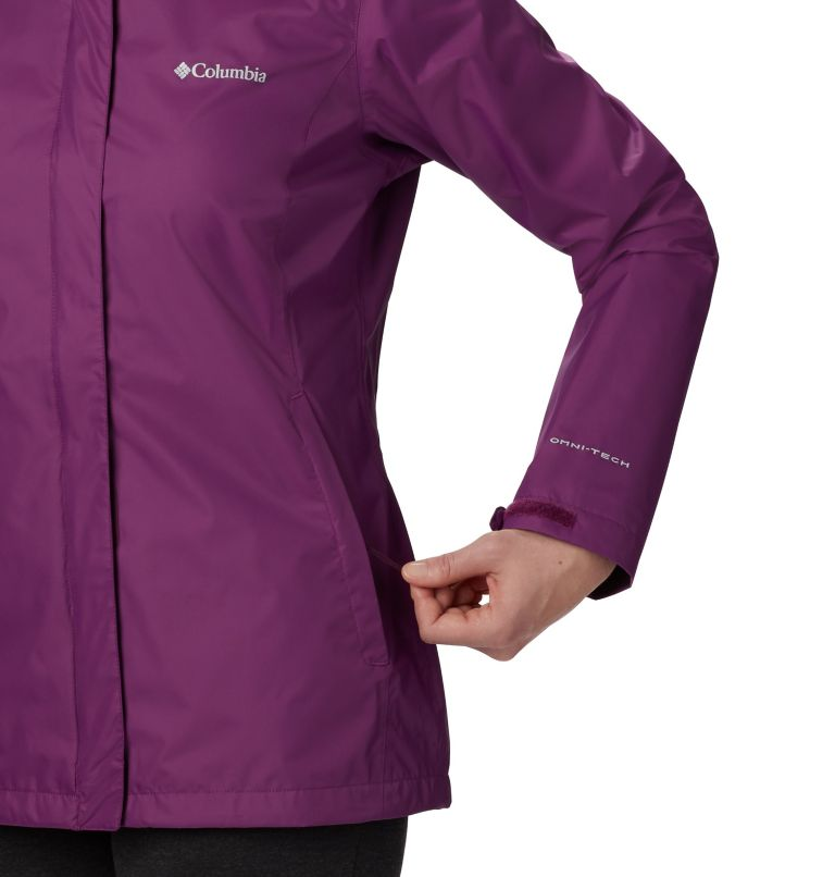 Arcadia™ II Jacket | 594 | L Women's Arcadia™ II Rain Jacket, Wild Iris, a1